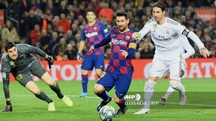 Siaran Langsung Real Madrid vs Barcelona El Clasico Dini Hari Nanti, Messi Dihantui Kutukan Ronaldo?