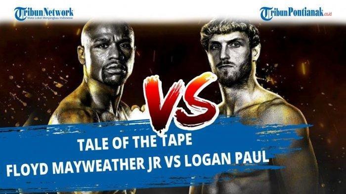 Siaran Langsung Tinju Dunia Mayweather Vs Logan Paul akan Live di Feed Asiasat 5 HD, Siapa Unggul?