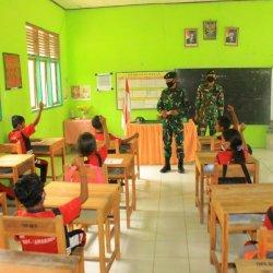Siswa di Perbatasan RI-RDTL Dapat Spirit Baru dari TNI