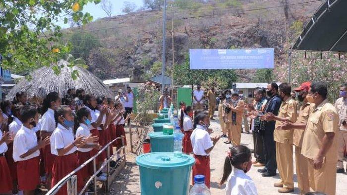 Kenebibi Deklarasikan Sebagai Desa Open Defecation Free
