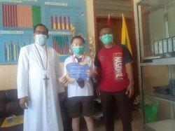 Siswa SMPK Frater Maumere Torehkan Prestasi Membanggakan