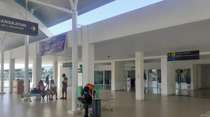 Bandara El Tari Kupang Sepi Penumpang