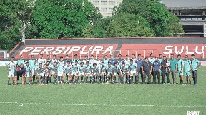 Skuad Sulut United di Liga 2 2020.