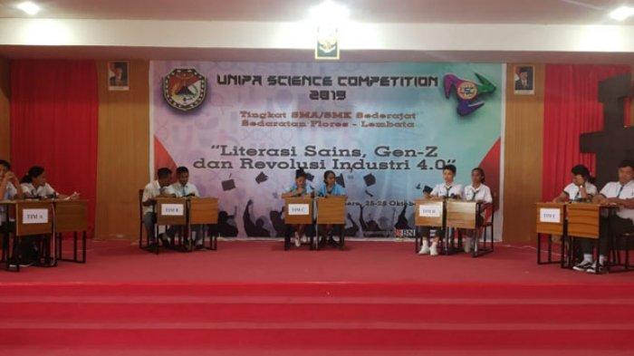 SMAK  Frateran Ndao   Juara   Unipa  Science  Competition