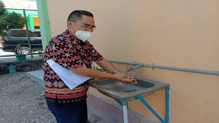 SMKN 6 Kupang Siapkan Prokes untuk KBM Tatap Muka