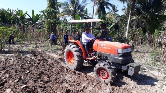 Songsong Musim Hujan Tiba,1.117, 90 Hektar Lahan di Kabupaten Malaka Sudah Selesai