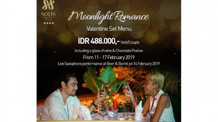 Sotis Hotel Kupang Tawarkan Spesial Promo Sambut Valentine Day 2019