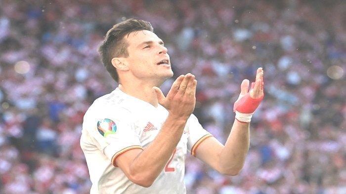 Info Sport : Ukir Rekor, Cesar Azpilicueta Cetak Gol Kedua untuk Spanyol, Kroasia Keok Skor 5-3