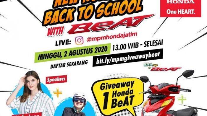 Yuk Bergabung ! 1000 anak muda bakal Live Instagram di event Back to School with BeAT