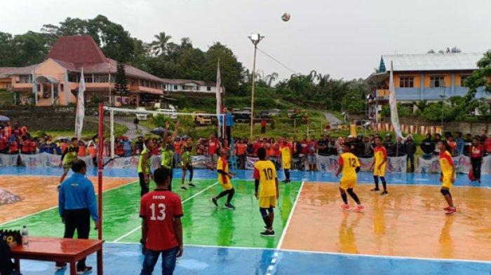 STKIP Citra Bakti Ngada Adakan Turnamen Voli PJKR Cup 1 Tingkat SMA