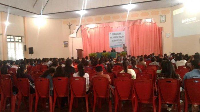 STKIP Santu Paulus Ruteng Gelar Bimbingan Karier bagi Mahasiswa Semester VIII
