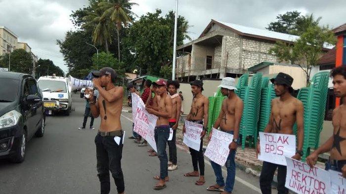 Ketika Mahasiswa di Kota Kupang Tuntut Kebebasan Pers Dalam Momentum HPN 2020