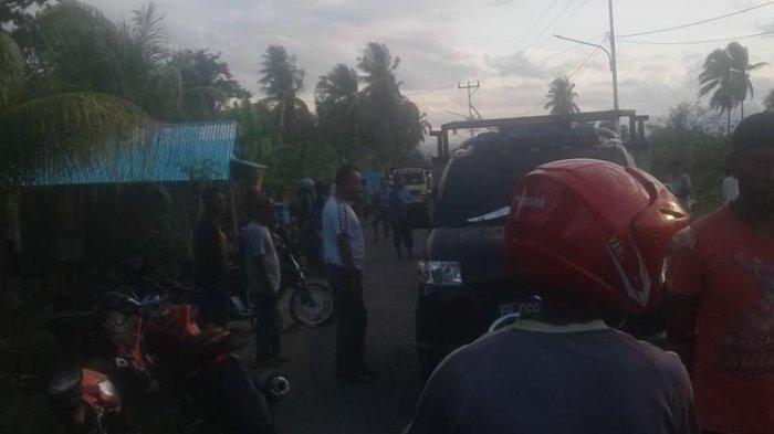 BREAKING NEWS :  Laka Lantas di Mbay Motor Vs Pick Up, Begini Kondisinya!