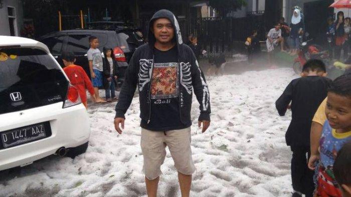 Ada Hujan Es di Bandung Lho, Pemeriksaan Brigadir K dan Pilot Dapat Serangan Jantung, Ini Beritanya