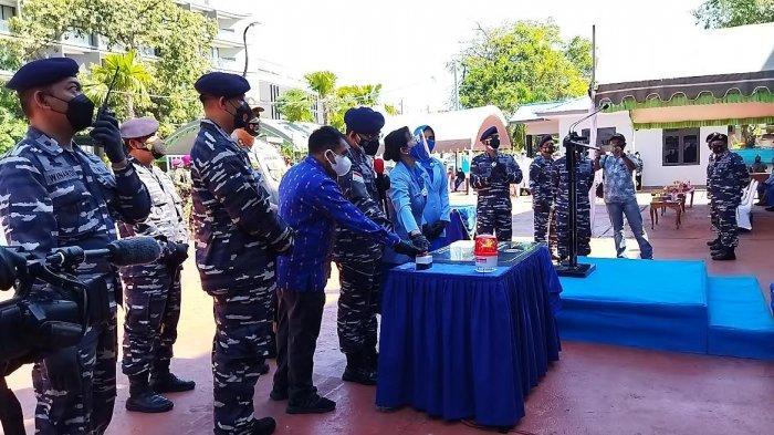 Komandan Lantamal VII Kupang Resmikan Pangkalan TNI AL Labuan Bajo