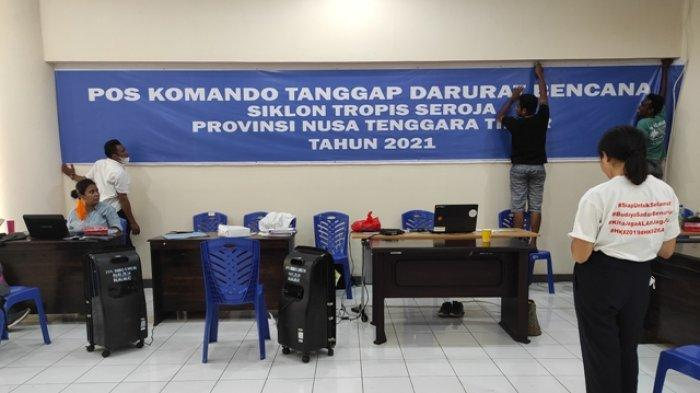 Pemprov Buka Posko Tanggap Bencana NTT di Aula El Tari Kupang