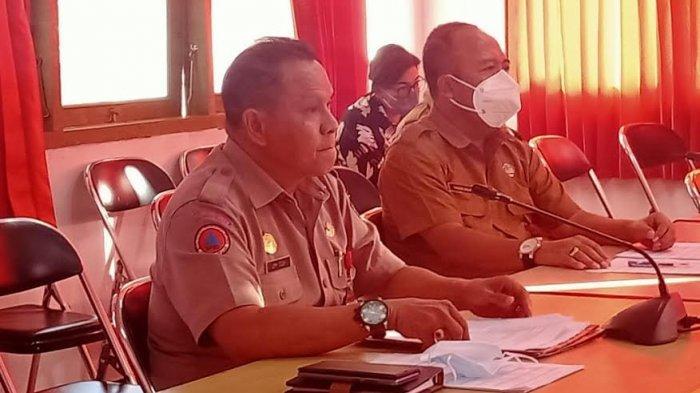 Kepala BPBD Jimi Didok Dibrondong Sejumlah Pertanyaan Oleh DPRD Kota Kupang