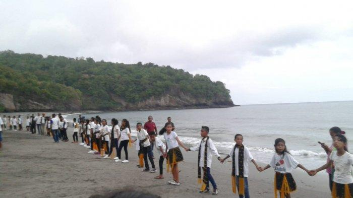 600 Penari Meriahkan Penutupan Festival Enagera Beach di Mauponggo