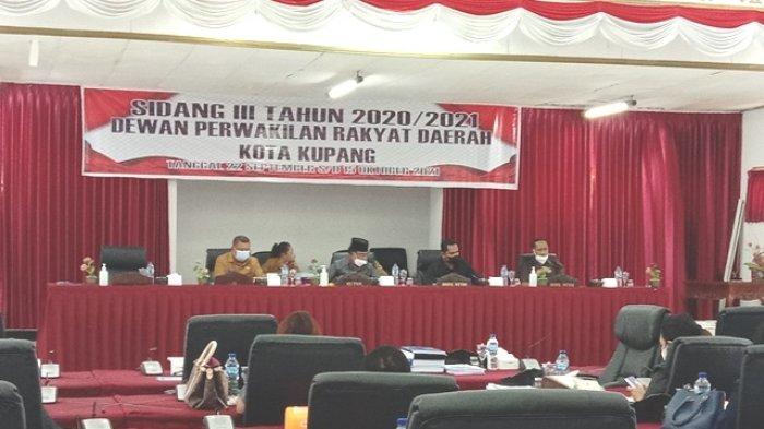 Pemkot Ajukan Tiga Ranperda ke DPRD Kota Kupang