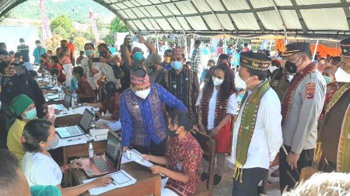 Pasar Modal Fasilitasi 50.000 Dosis Vaksin ke Kabupaten Manggarai Barat