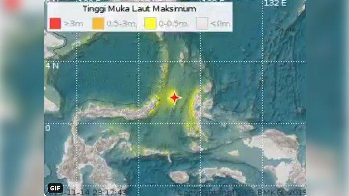 Pagi Ini Ada 6 Gempa Susulan  Menggoyang Manado Usai Dihantam Gempa 7,1 SR, Info