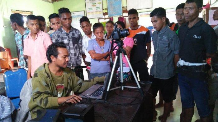 Cuaca Buruk di Kabupaten Kupang, Perekaman Data E-KTP Terhenti