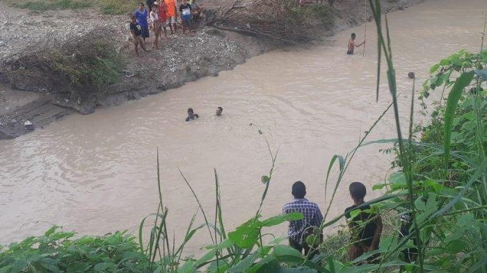 Sungai di Pakubaun, Amarasi Timur