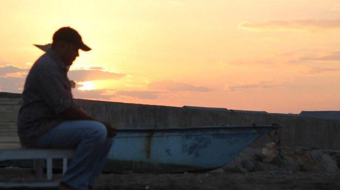TRIBUN WIKI : Menikmati Sunrise dan Sunset di Pantai Ujung Tanggul Nangadhero Nagekeo