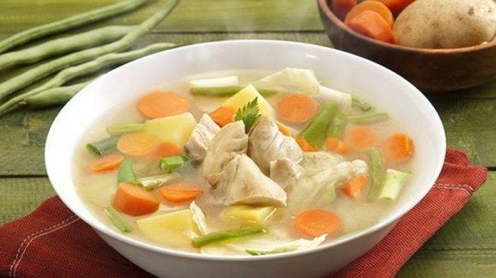 Sup ayam bening