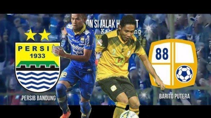 Supardi Nasir (Persib Bandung) vs Evan Dimas (PS Barito Putera).