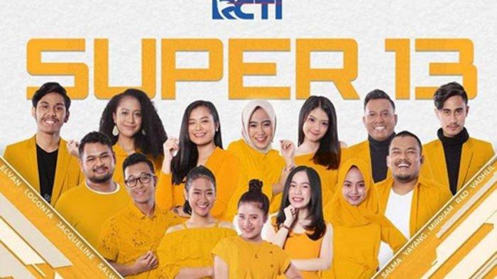 SEDANG BERLANGUNG Link Live Streaming Rising Star Indonesia RCTI, Babak Super 13, Ada R&D