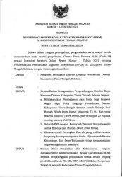 Pemda TTS Berlakukan PPKM, Rumah Makan dan Swalayan Hanya Dibuka Sampai Jam 6 Sore