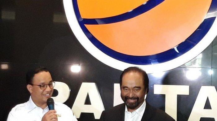 Surya Paloh Sebut Partainya Dukung Anies Baswedan Jadi Capres 2024