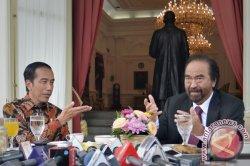 Presiden Jokowi Bertemu Surya Paloh