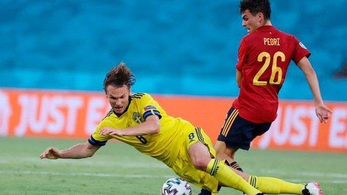 Hasil EURO 2020 - Swedia Tahan Spanyol Tanpa Gol