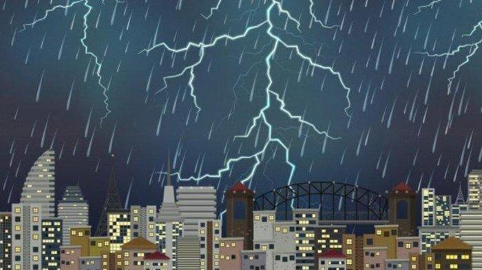 INFO BMKG Hari Kamis 10 Juni 2021: Waspada! 22 Wilayah Ini Berpotensi Alami Cuaca Ekstrem