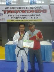 Atlet PPLD NTT Raih Perunggu di Kejurnas PPLP Taekwondo di NTB