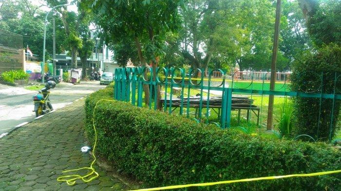 Bom Rakitan Meledak di Taman Pandawa Kota Bandung