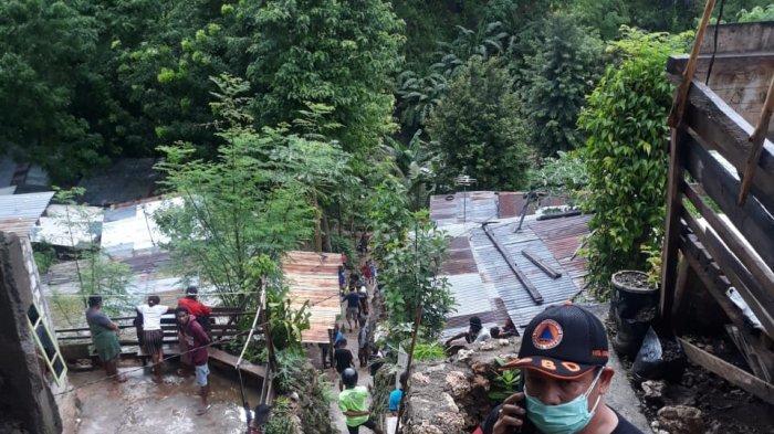 BREAKING NEWS Akibat Hujan Tanah Longsor di TDM Kota Kupang, 2 Orang Meninggal Dunia
