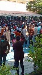 Warga Serbu Vaksinasi Massal di Poltekes Kemenkes Kupang