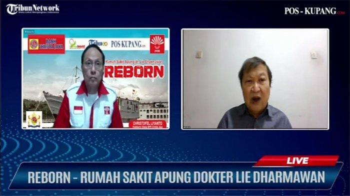 PD INTI NTT Gelar Virtual Talskhow Bertajuk RSA dr. Lie Dharmawan Reborn