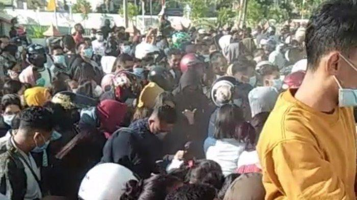 Peserta Vaksin Membludak & Tidak Taat Prokes, Pengamat: Klaster Vaksin akan Muncul di Kota Kupang