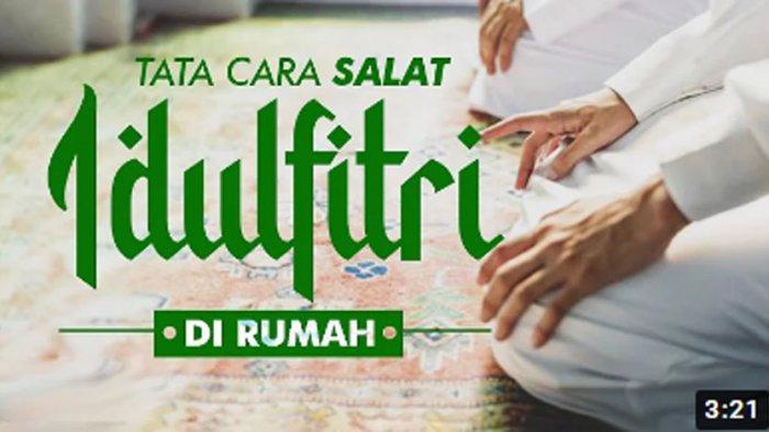 Sholat Id di Rumah, Ini Contoh Teks Khotbah Idul Fitri , Tema: Idul Fitri, Awal Pembaharuan Diri