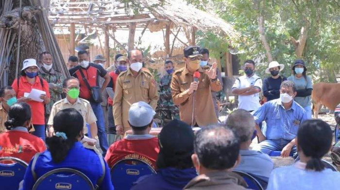 Bupati dan Wakil Bupati Belu Terus Menggelorakan Semangat Kerja Petani