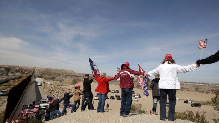 1 Miliar Dolar AS Dialihkan untuk Tembok Perbatasan Amerika Serikat-Meksiko