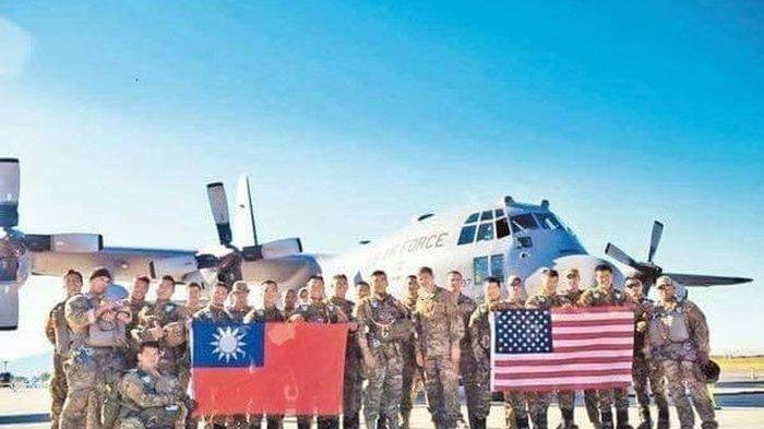 Tentara Amerika Sudah Siaga di Taiwan,Skenario Perang Dicoba, Pertempuran Lawan China di Depan Mata
