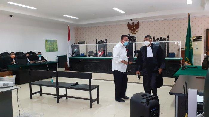 Sidang Putusan Mantan Walikota Kupang Jonas Salean Ditunda, Ini yang Terjadi