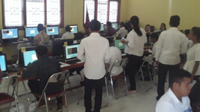 Testing CPNS di Manggarai Barat, Hasil SKD Untuk Penentuan Peserta SKB Menunggu Panselnas