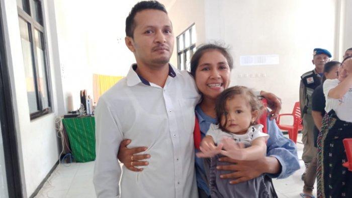 Di Borong, Manggarai Timur, Seorang Istri Menangis Sesenggukan Sembari Peluk Erat Suami, Ada Apa?