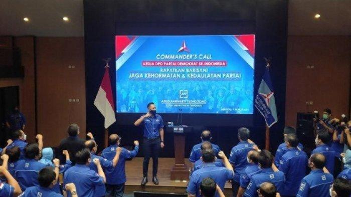 Seluruh Pimpinan DPC Partai Demokrat Diminta AHY untuk Sabar Namun Tetap Ikhtiar Sikapi KLB Sumut